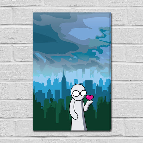 The Creature Emporium - Have a Heart - Limited Edition Mini Canvas Print