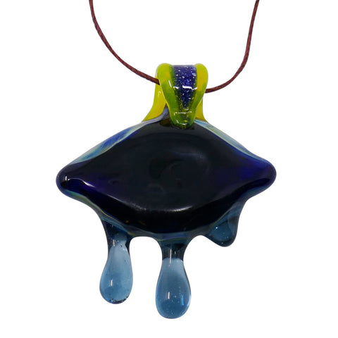 LIM Glass Eye Pendant - Mary Jane Glass Gallery