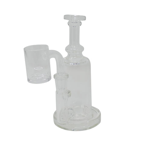 Fluid Glass Mini Tube - Clear - Mary Jane Glass Gallery