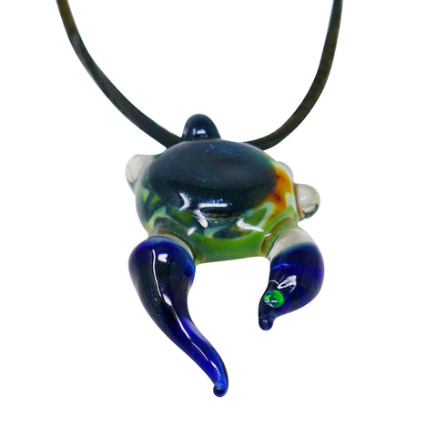 Jake Glass Wig Wag Pendant - Mary Jane Glass Gallery