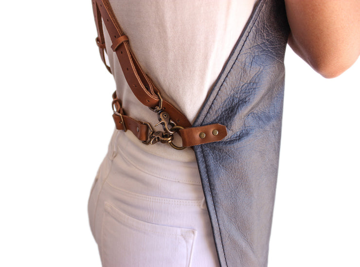 blue-leather-apron-buckles