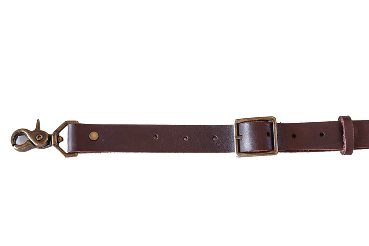 brown leather apron strap Ellenic Australia