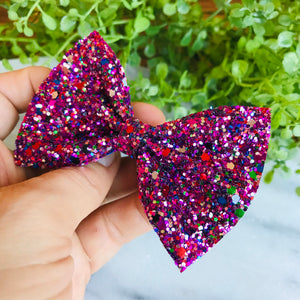 GLITTER - Mixed Berry Bow