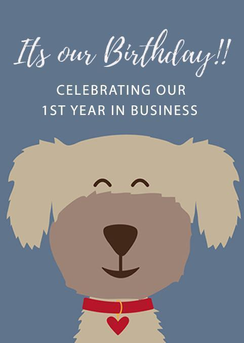 It's Our Birthday! Celebrating Our 1st Year As A Shop!