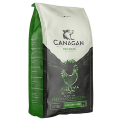 Bag Of Canagan Dry Dog Food - Free-Range Chicken Variety