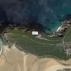 Lennick Lodge Newquay from above