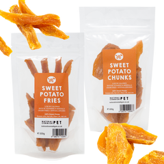 Natural Grain Free Sweet Potato Chews For Dogs