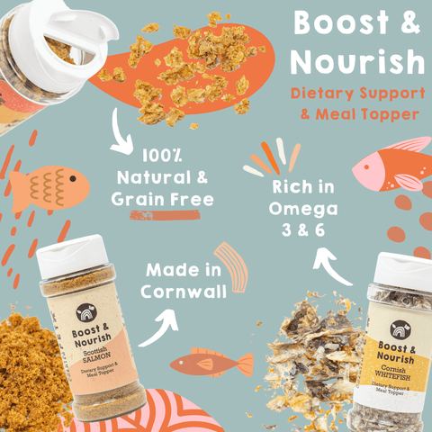 Natural Cornish Pet Boost & Nourish Meal Toppers