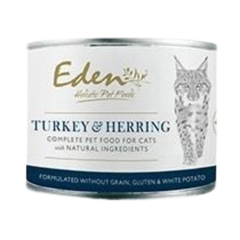 Eden Wet Food for Cats Turkey and Herring