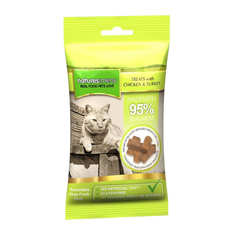 Natures Menu Chicken & Turkey Mini Treats for cats