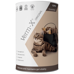 Tube of Verm-X for cats