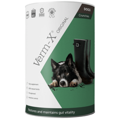 Tube of Verm-X for dogs