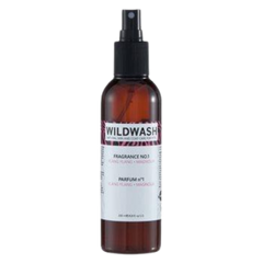 Bottle of Wildwash Fragrance number one for dogs
