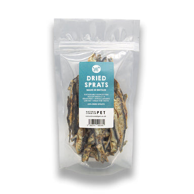 100% Natural Dried Sprats for Dogs Dog Treats Just Fish Treats