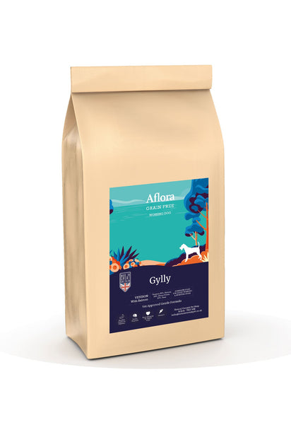 Aflora Gylly - Venison With Salmon 15kg Dog Food - Dry Aflora