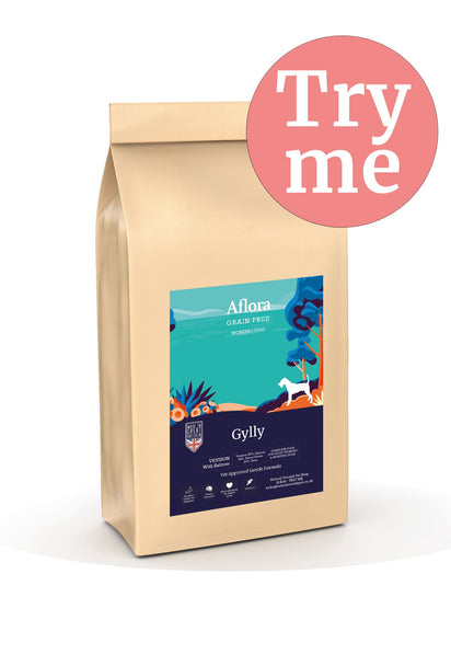 Aflora Gylly - Venison With Salmon 2kg Dog Food - Dry Aflora