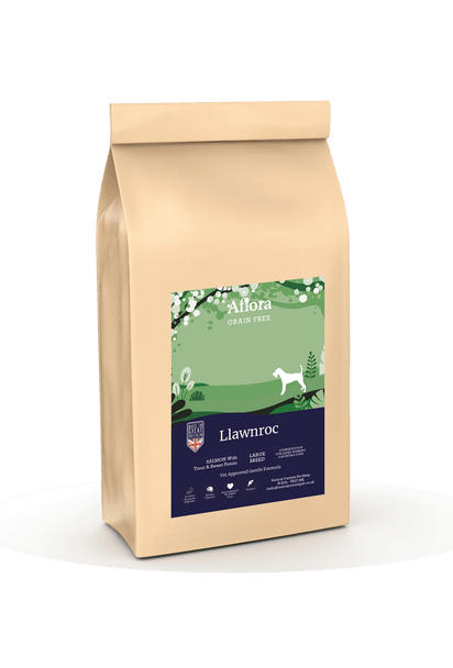 Aflora Llawnroc - Large Breed Salmon 15kg Dog Food - Dry Aflora