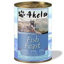 Akela Complete Wet Working Dog Food - Fish Feast Dog Food - Wet Akela