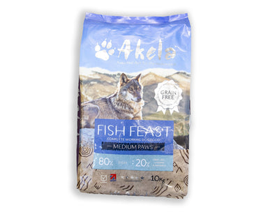 Akela Working Dog Fish Feast Dog Food - Dry Akela