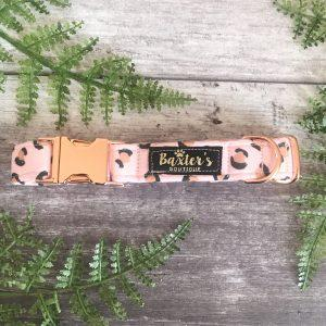 Baxters Boutique Fluffy Clouds Collar Dog Collars and Leads Baxters Boutique