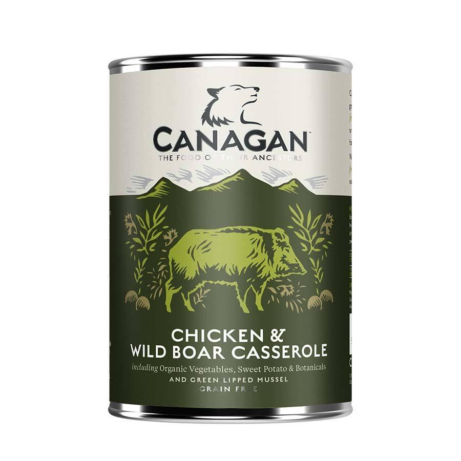 Canagan Can - Chicken & Wild Boar Casserole Dog Food - Wet Canagan