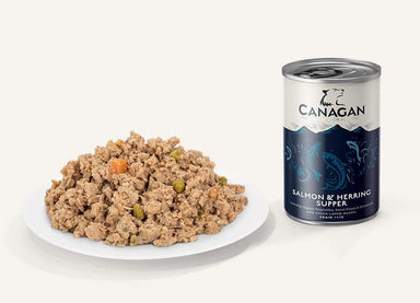 Canagan Can - Salmon & Herring Supper Dog Food - Wet Canagan