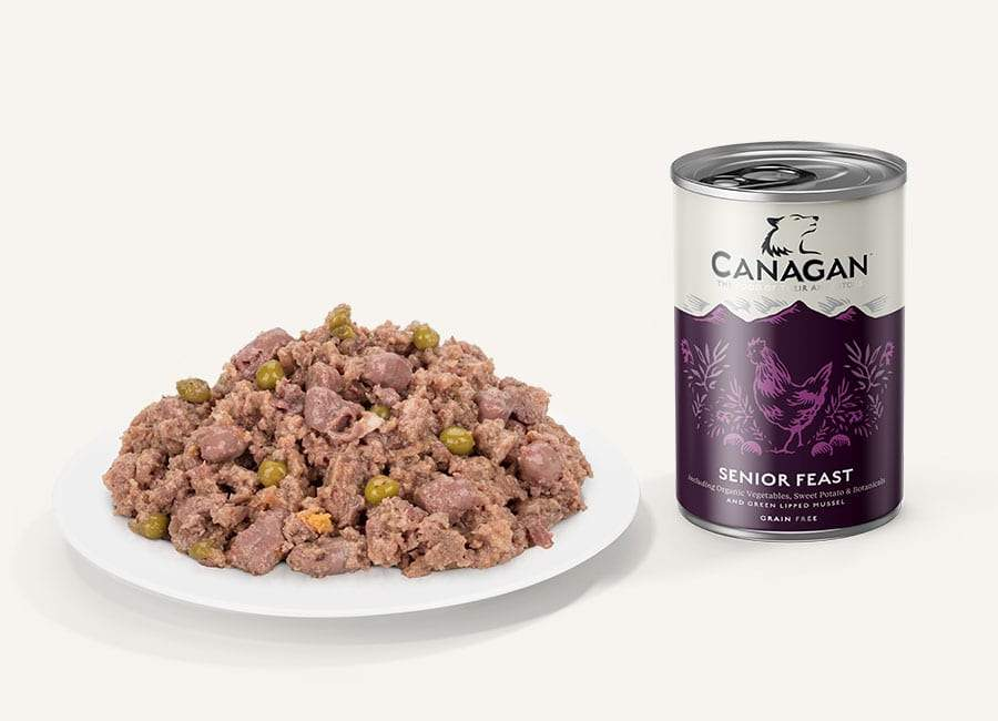 Canagan Can - Senior Feast Dog Food - Wet Canagan