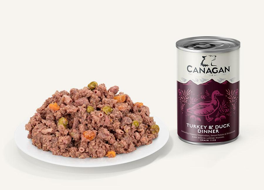Canagan Can - Turkey & Duck Dinner Dog Food - Wet Canagan