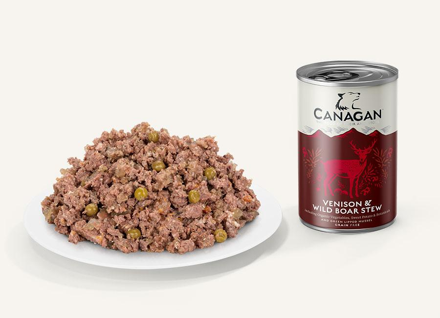 Canagan Can - Venison & Wild Boar Stew Dog Food - Wet Canagan