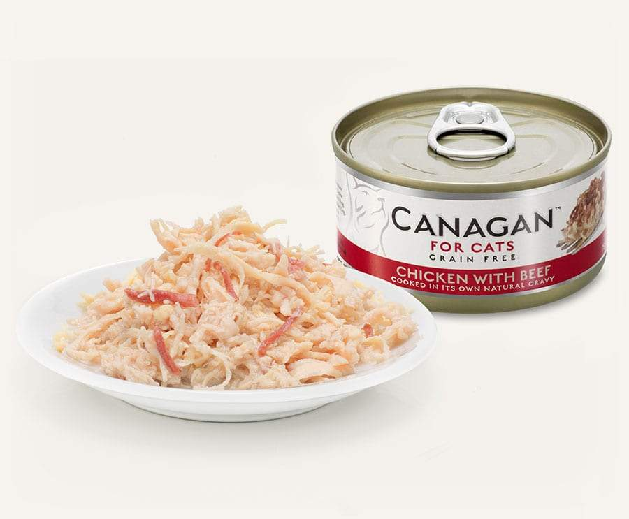 Canagan Cat Can - Chicken with Beef Cat Food - Wet Canagan