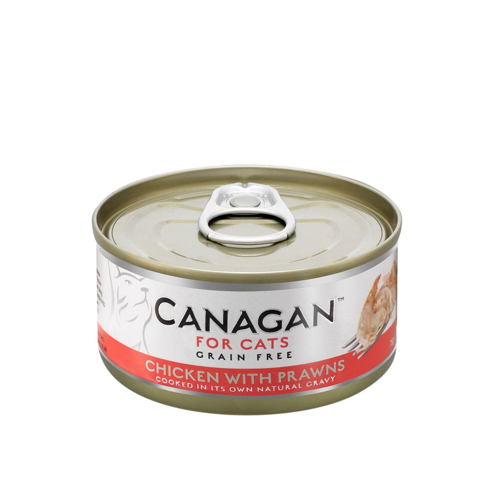 Canagan Cat Can - Chicken with Prawns Cat Food - Wet Canagan