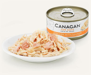 Canagan Cat Can - Chicken with Salmon Cat Food - Wet Canagan