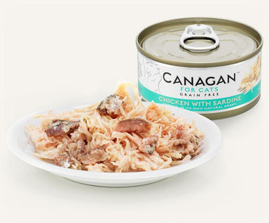 Canagan Cat Can - Chicken with Sardine Cat Food - Wet Canagan