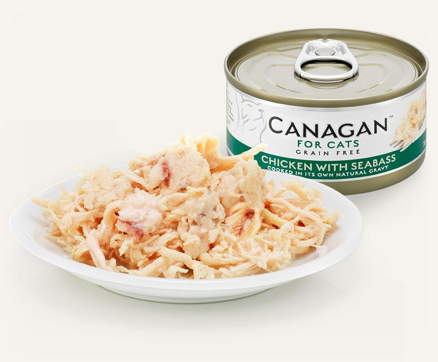 Canagan Cat Can - Chicken with Seabass Cat Food - Wet Canagan