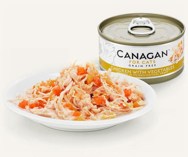 Canagan Cat Can - Chicken with Vegetables Cat Food - Wet Canagan