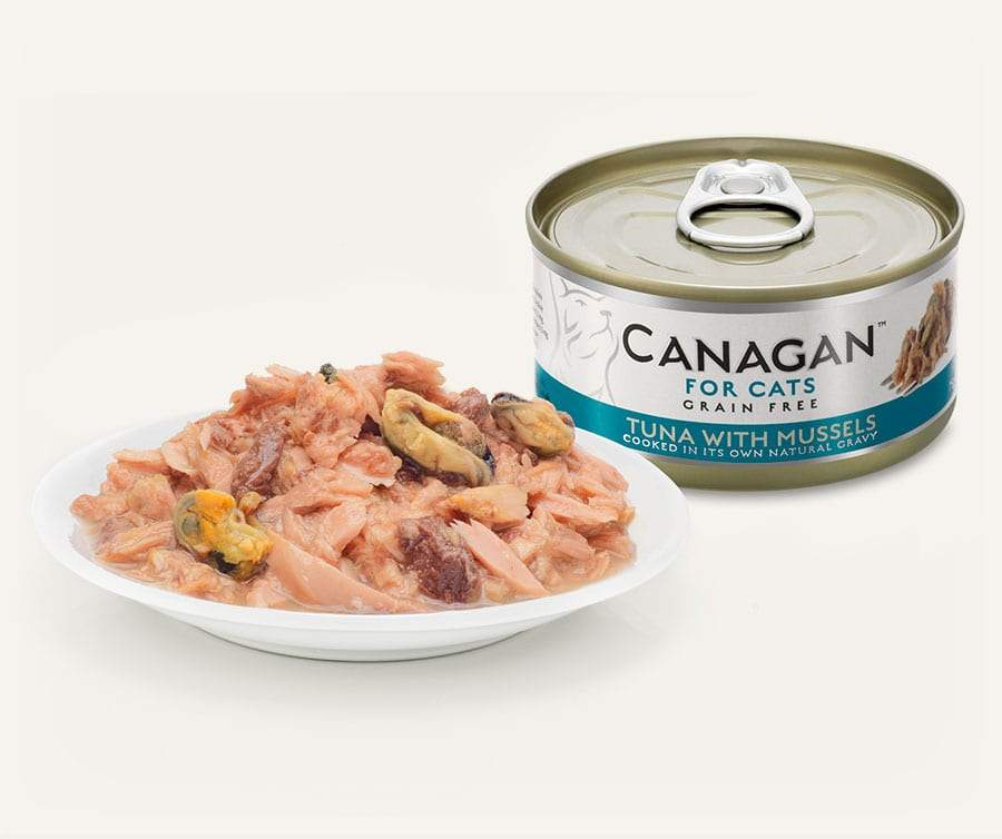 Canagan Cat Can - Tuna with Mussels Cat Food - Wet Canagan