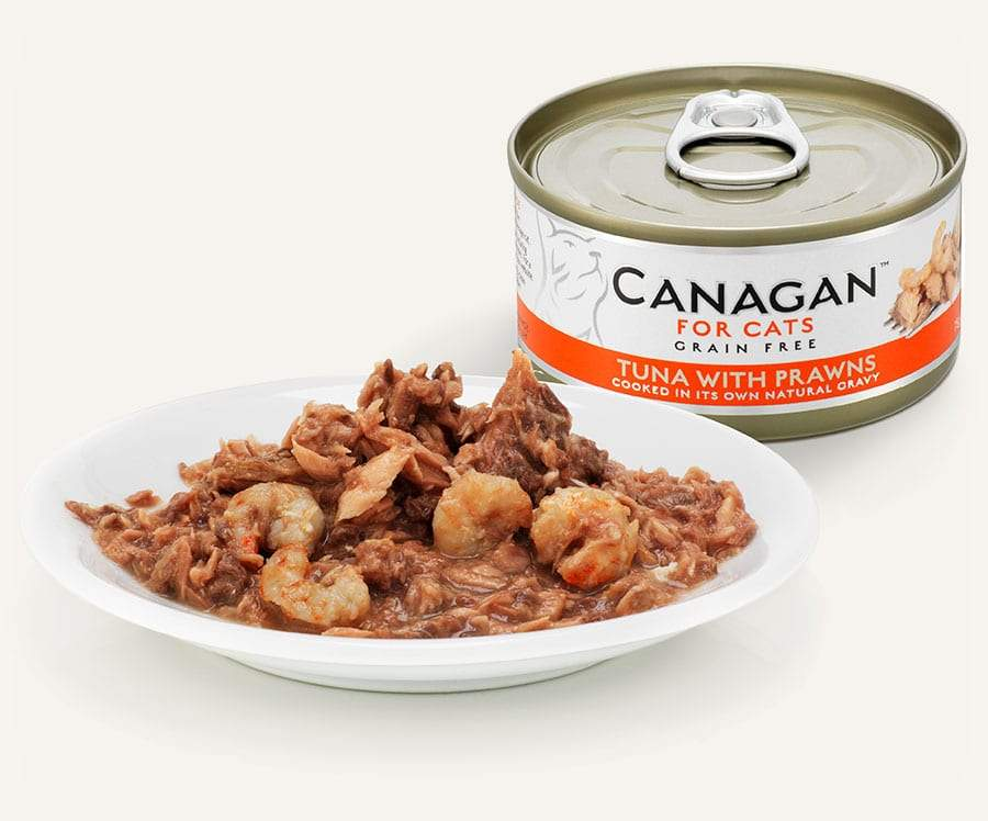 Canagan Cat Can - Tuna with Prawns Cat Food - Wet Canagan
