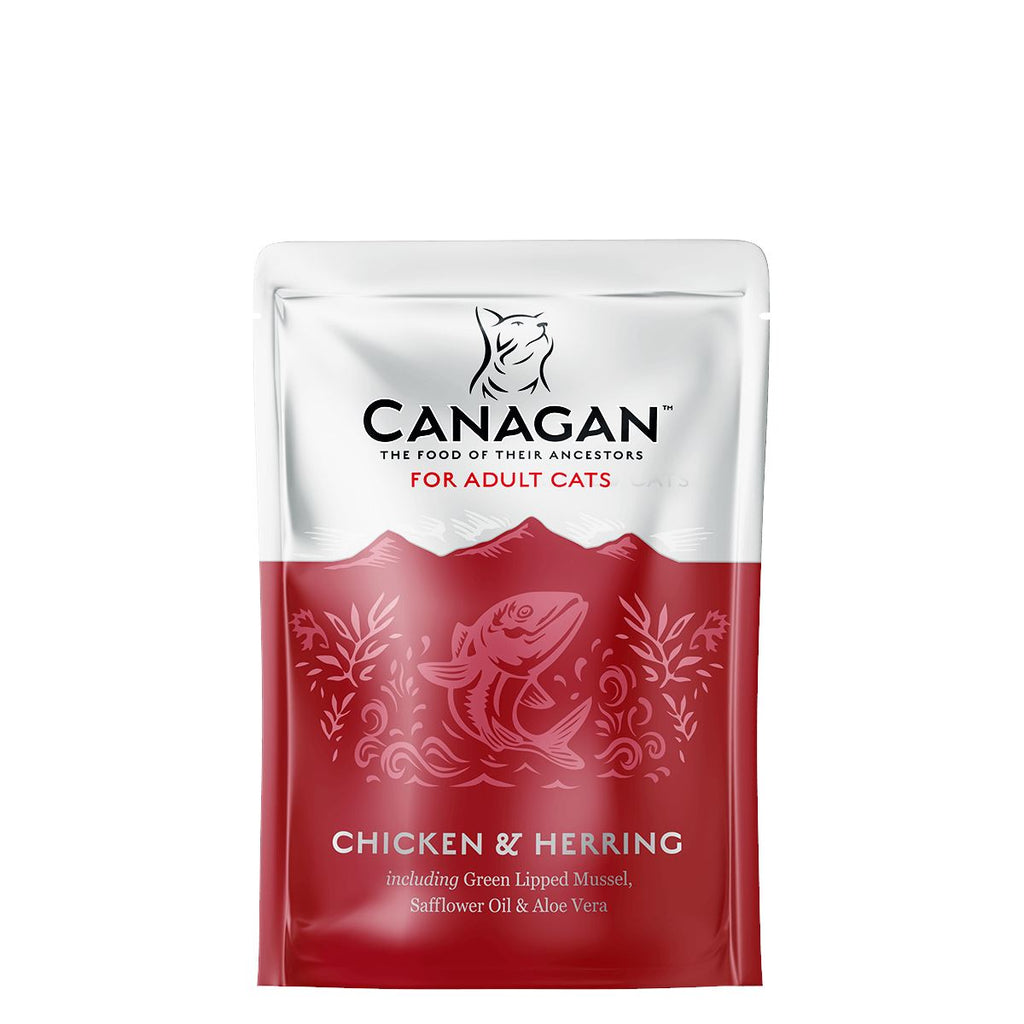 Canagan Cat Pouch - Chicken & Herring Cat Food - Wet Canagan