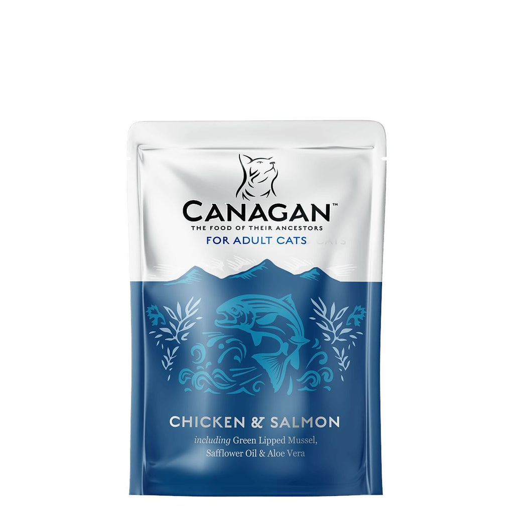 Canagan Cat Pouch - Chicken & Salmon Cat Food - Wet Canagan
