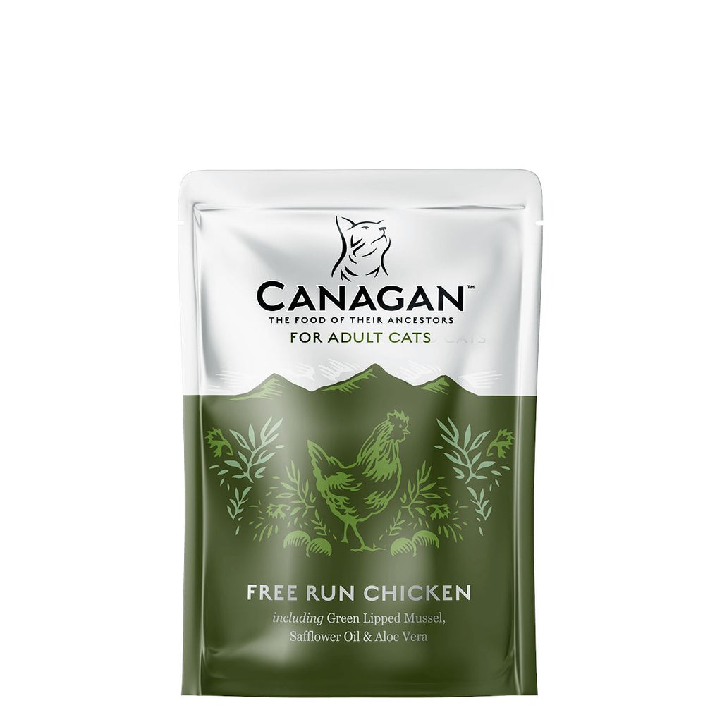 Canagan Cat Pouch - Free Run Chicken Cat Food - Wet Canagan
