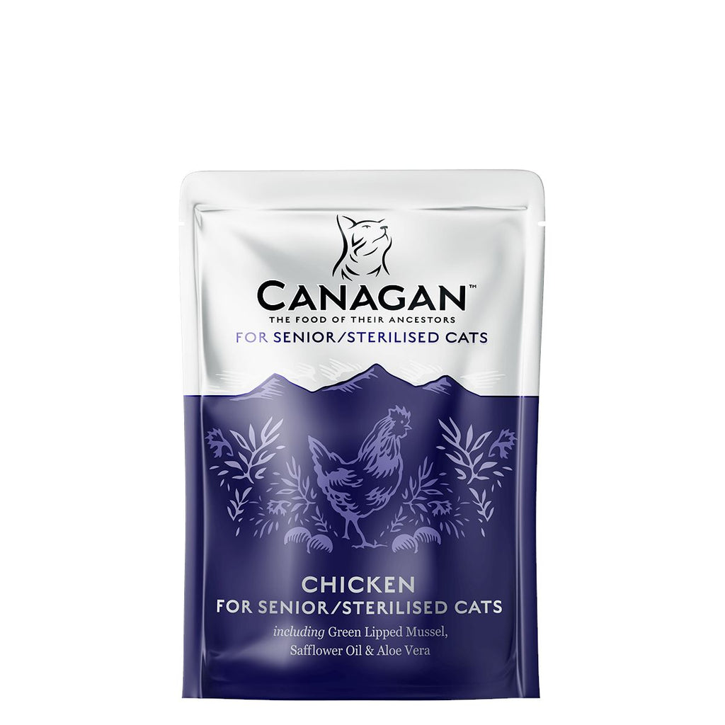 Canagan Cat Pouch - Senior / Sterilised Cats Cat Food - Wet Canagan