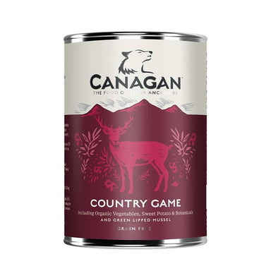 Canagan Dog Can - Country Game Dog Food - Wet Canagan