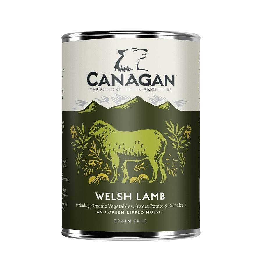 Canagan Dog Can - Welsh Lamb Dog Food - Wet Canagan