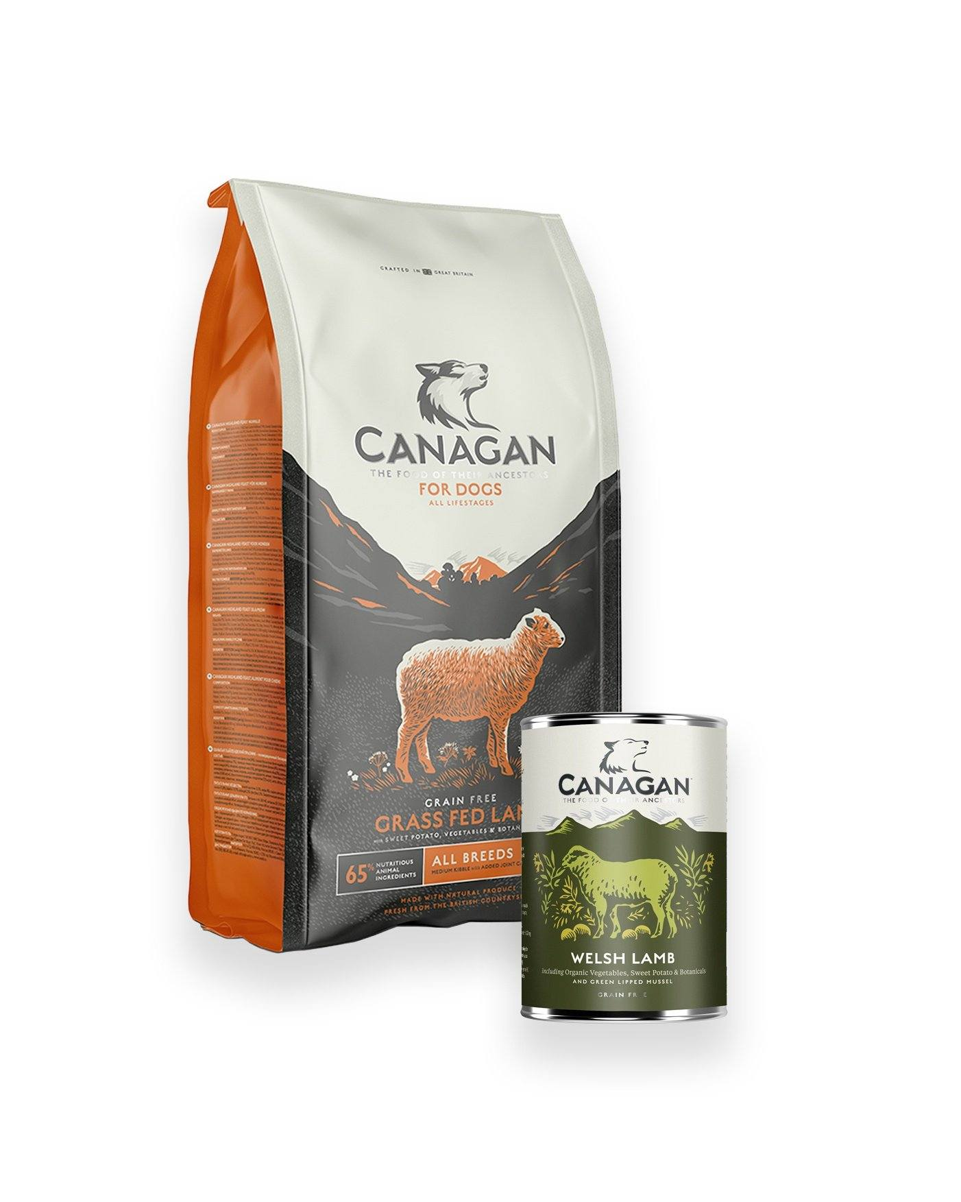 Canagan Lamb Hamper Dog Food - Dry Canagan