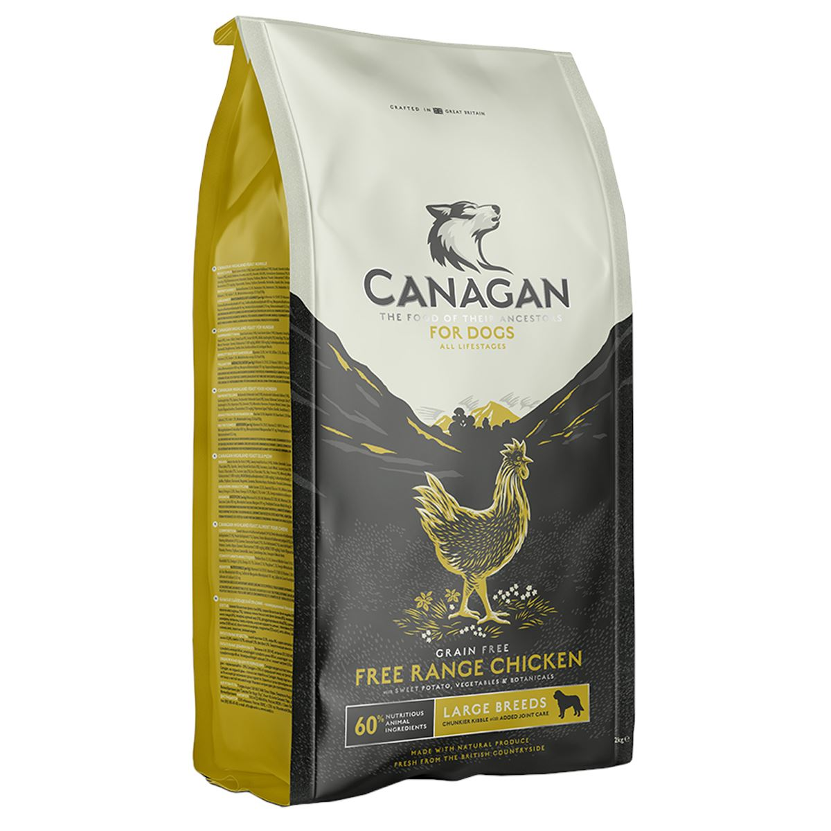 Canagan Large Breed Free-Run Chicken Dog Food - Dry Canagan