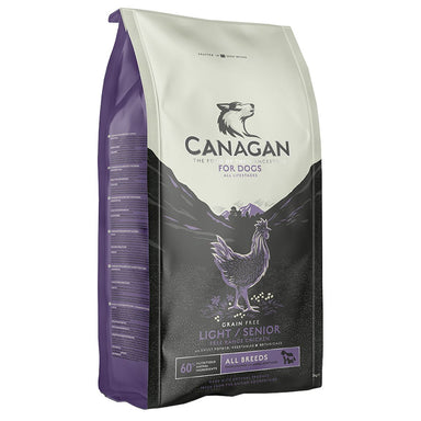 Canagan Light / Senior Dog Food - Dry Canagan