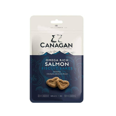 Natural Dog Treats - Canagan Salmon Dog Biscuit Bakes Dog Treats Canagan