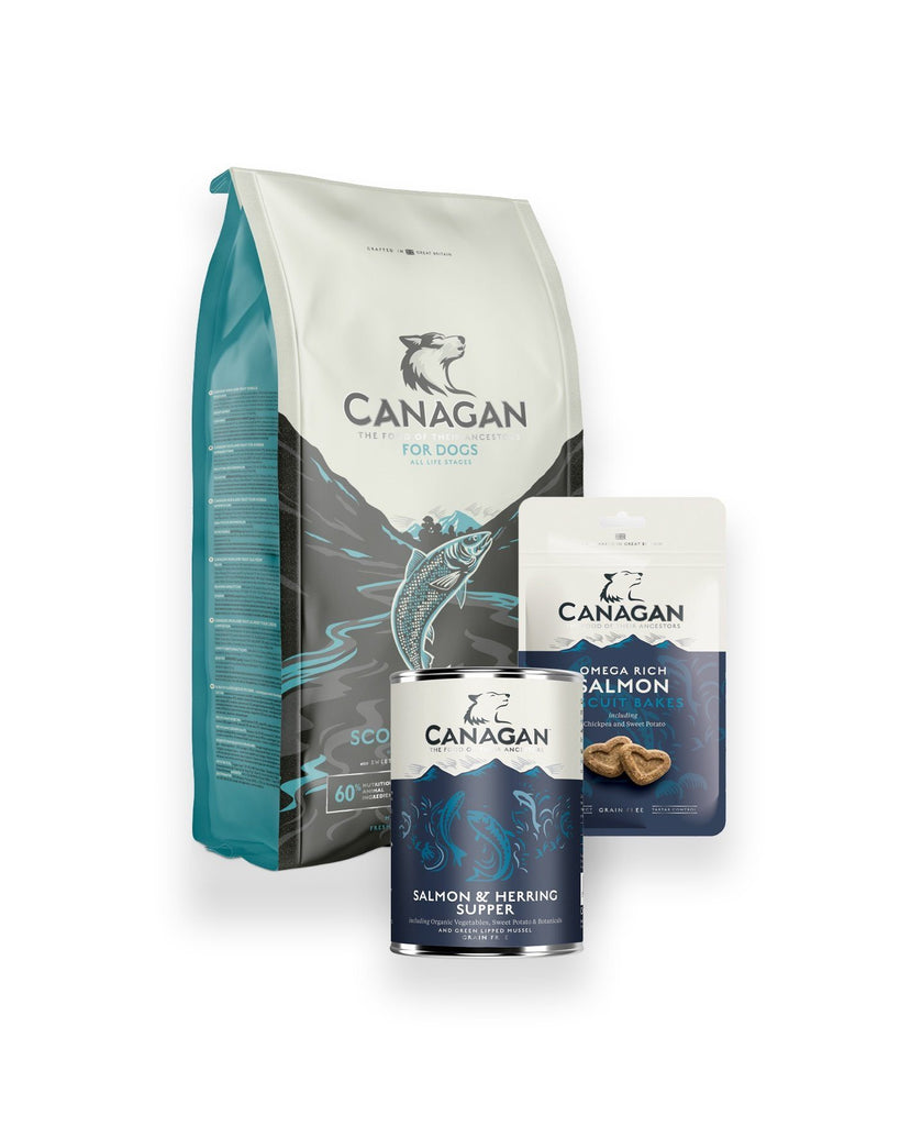 Canagan Salmon & Herring Hamper Dog Food - Dry Canagan