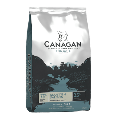 Canagan Scottish Salmon For Cats Cat Food - Dry Canagan