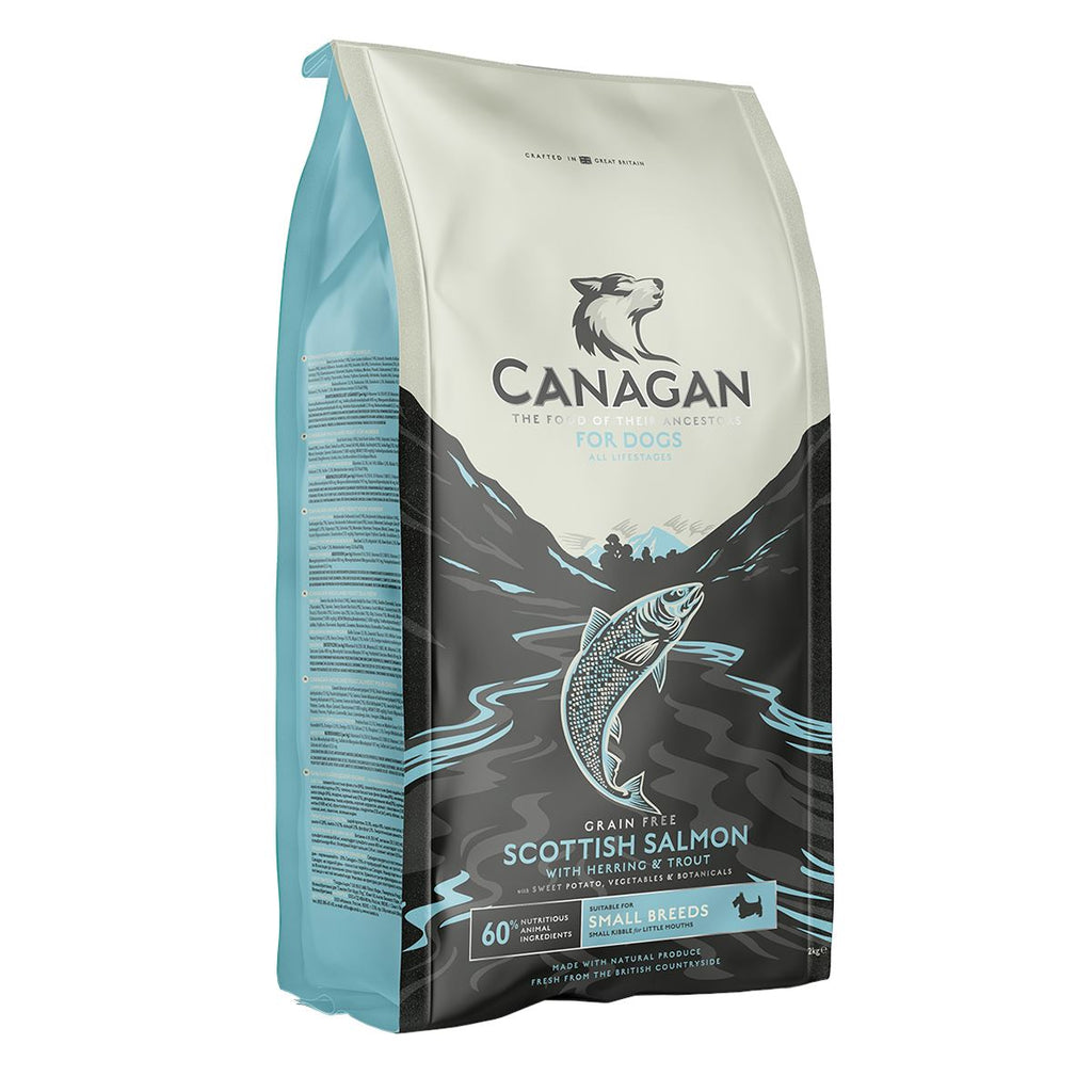 Canagan Small Breed Scottish Salmon Dog Food - Dry Canagan